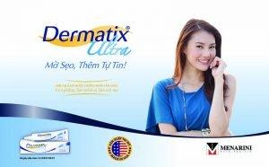 Gel làm phẳng sẹo lồi tại nhà an toàn Dermatix