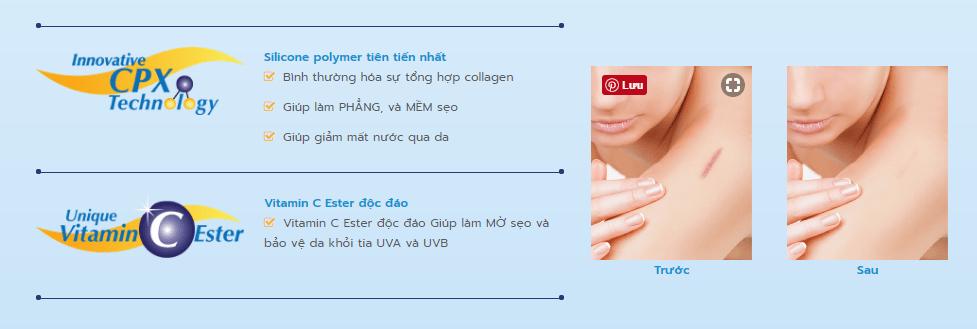 Công dụng của Dermatix Ultra