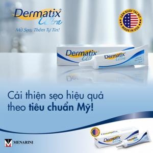 Kem hỗ trợ trị sẹo Dermatix Ultra