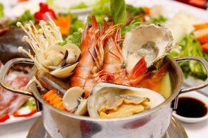 Kiêng ăn hải sản khi bị sẹo