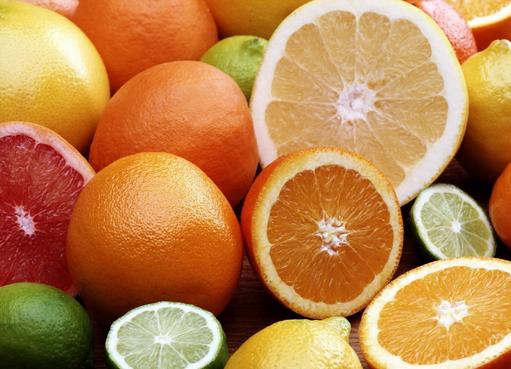 Trái cây cung cấp vitamin C tốt cho vết sẹo