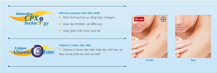 Công nghệ sản phẩm Dermatix Ultra